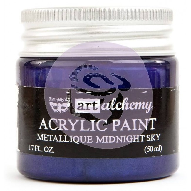 Pintura acrílica Art Alchemy - Metallique Midnight Sky