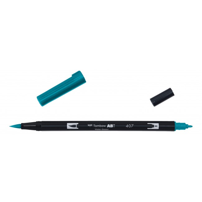 Rotulador Tombow Dual Brush 407 Tiki Teal