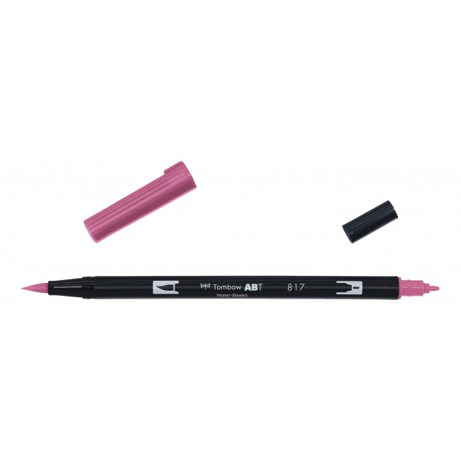 Rotulador Tombow Dual Brush 817 Mauve