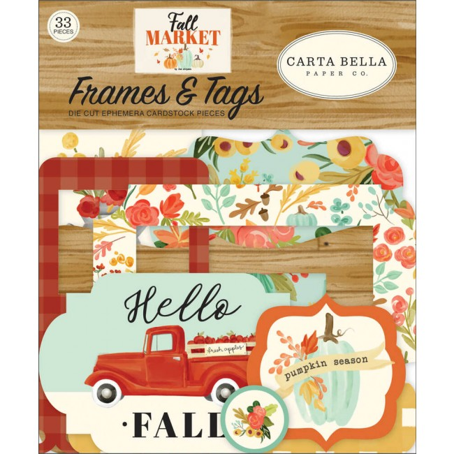Die Cuts Fall Market Frames & Tags