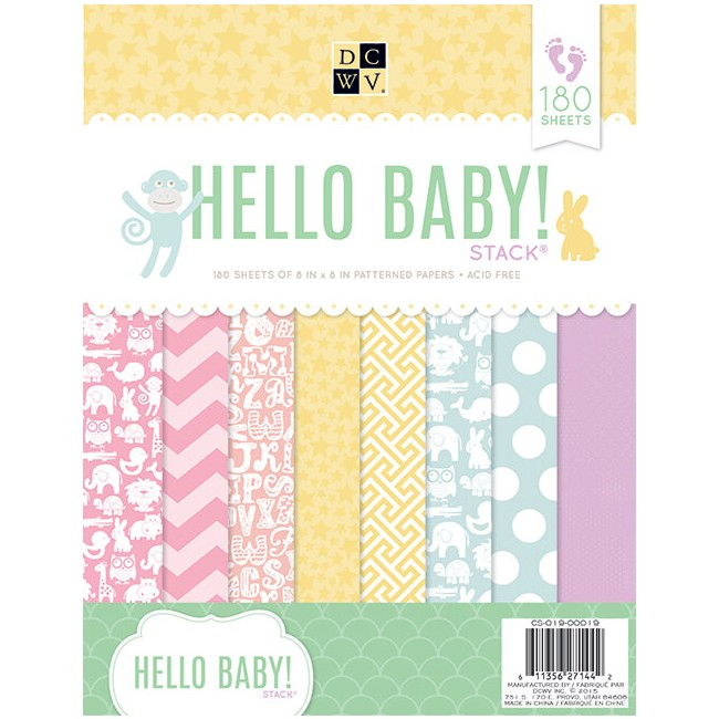 Stack 180 Papeles 8.5x11 The Hello Baby!