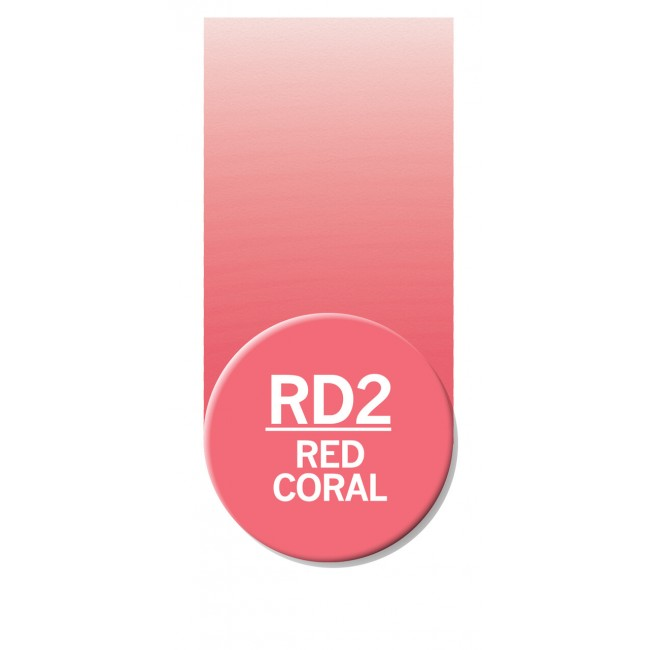 Rotulador Chameleon Red Coral RD2