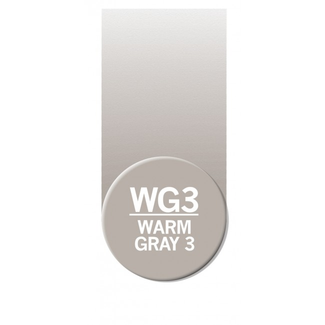 Rotulador Chameleon Warm Grey 3 WG3