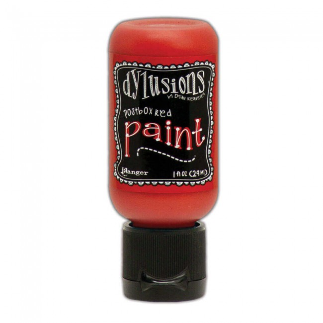 Pintura Acrílica Dylusions Mini 29ml Postbox Red