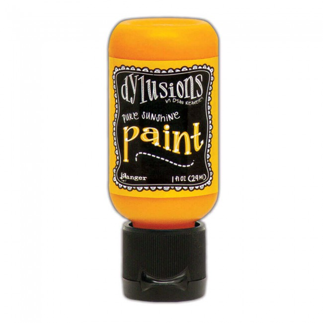 Pintura Acrílica Dylusions Mini 29ml Pure Sunshine