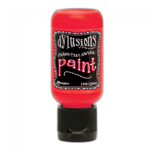 Pintura Acrílica Dylusions Mini 29ml Strawberry Daiquiri