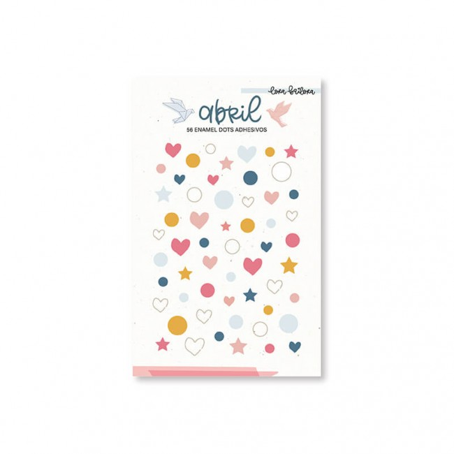 Enamel Dots Abril