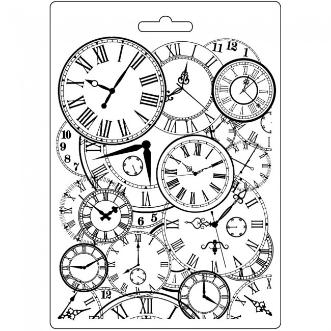 Molde A5 Alice Clocks