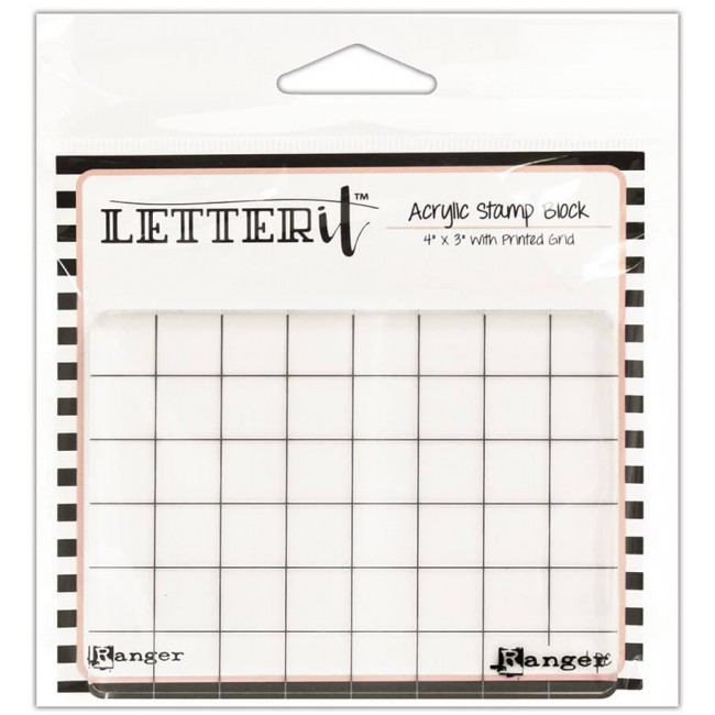 Base de Metacrilato Letter It - 4x3
