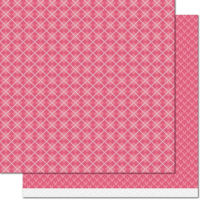 Papel Estampado Doble Cara 12x12 Leg Warmers