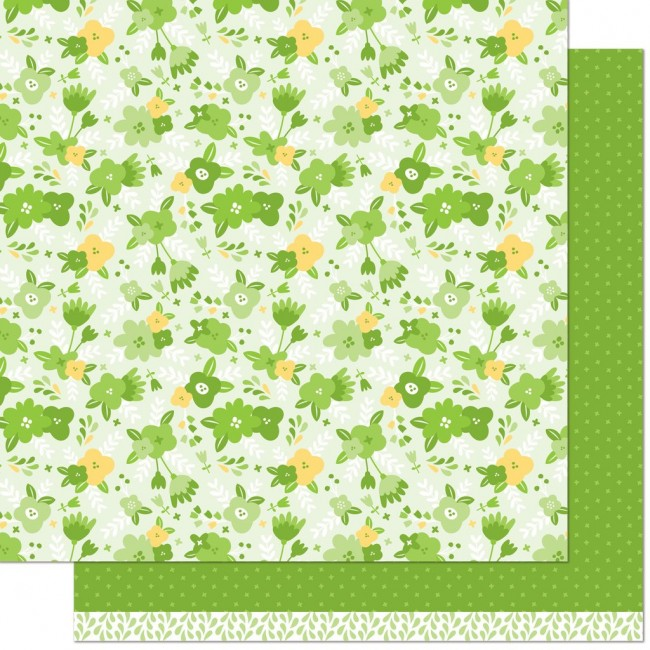 Papel Estampado Doble Cara 12x12 Christy