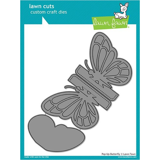 Troquel Lawn Cuts Pop-Up Butterfly