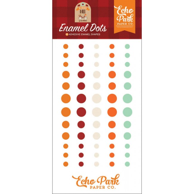 Enamel Dots My Favorite Fall