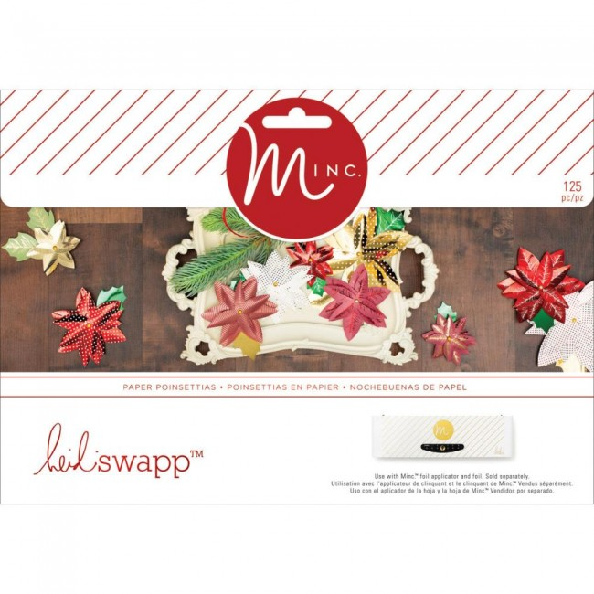 Minc Christmas 3D Poinsettia Decor Kit