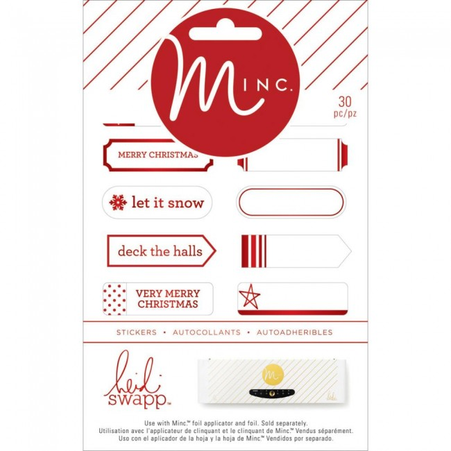 Minc Mini Label Stickers