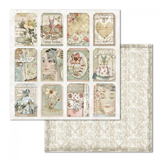 Papel Estampado Doble Cara 12x12 Imagine Image Tag