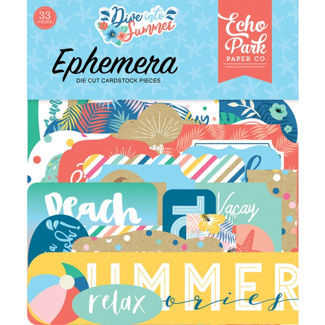 Die Cuts Dive Into Summer Icons