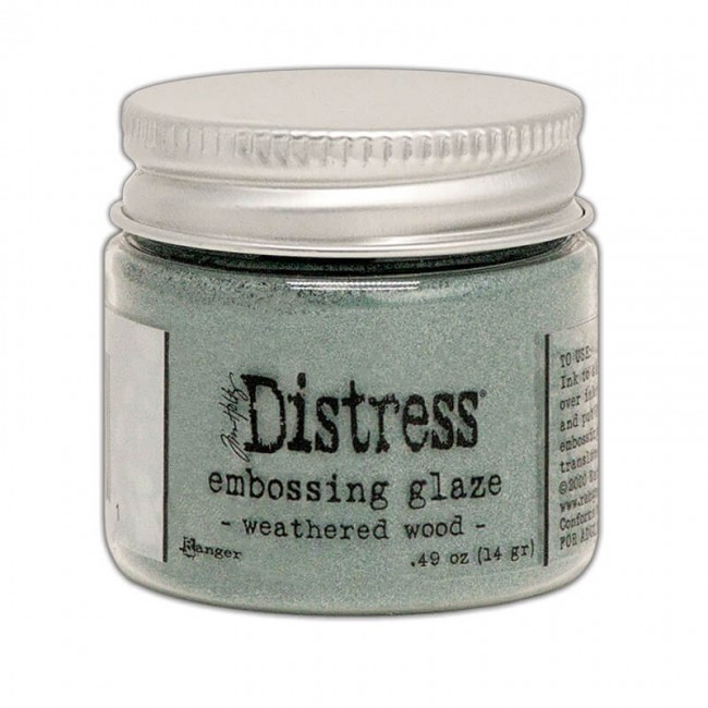 Polvos de Embossing Distress Glaze Weathered Wood
