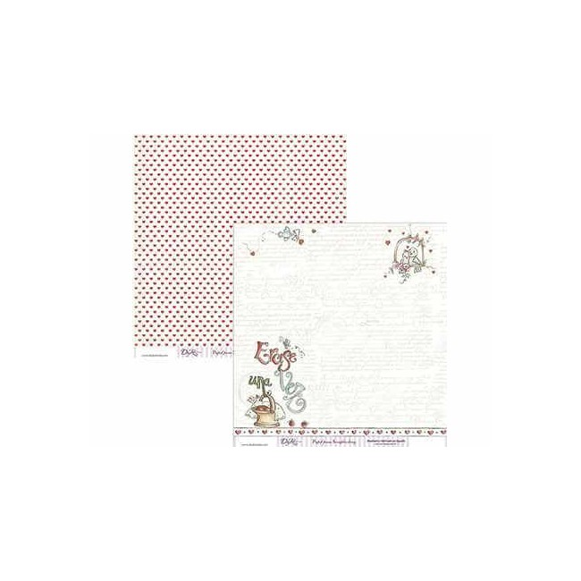 Papel Estampado Doble Cara 12x12 - Cuentos - 015