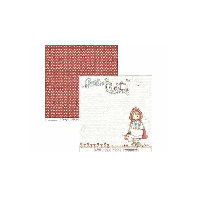 Papel Estampado Doble Cara 12x12 - Cuentos - 016