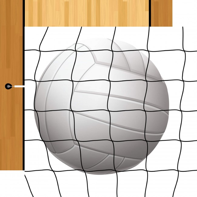 Papel Estampado Doble Cara 12x12 - Volleyball - Volleyball
