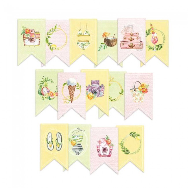 Die Cuts Sunshine Garland