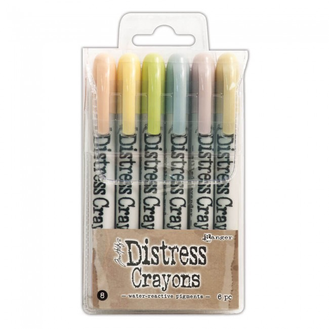 Set Distress Crayons #8