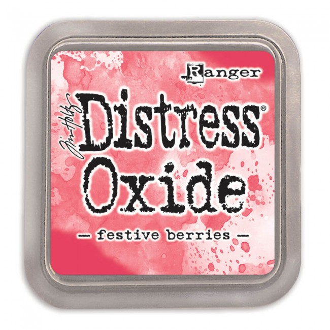Tinta Distress Oxide Ink Festive Berries