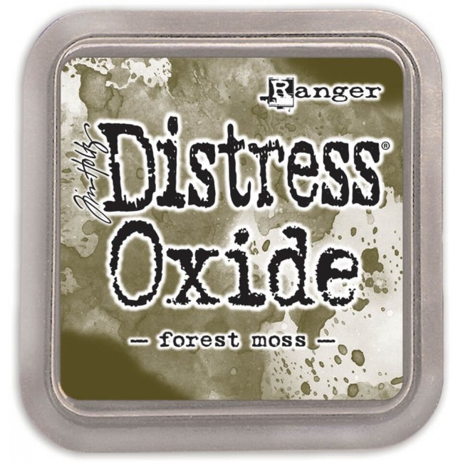 Tinta Distress Oxide Ink Forest Moss