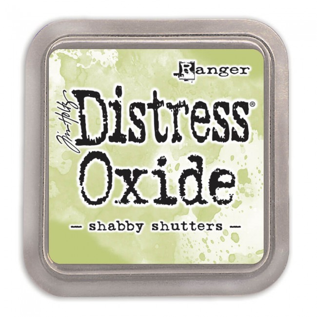 Tinta Distress Oxide Ink Shabby Shutters