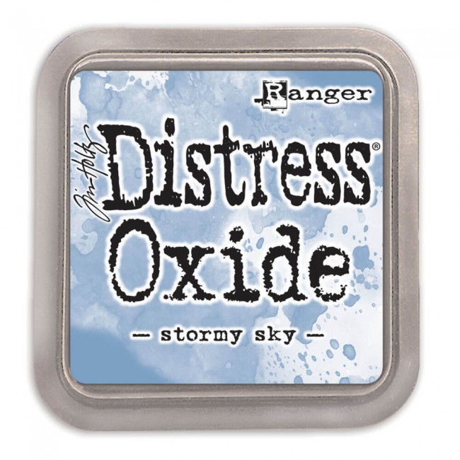 Tinta Distress Oxide Ink Stormy Sky