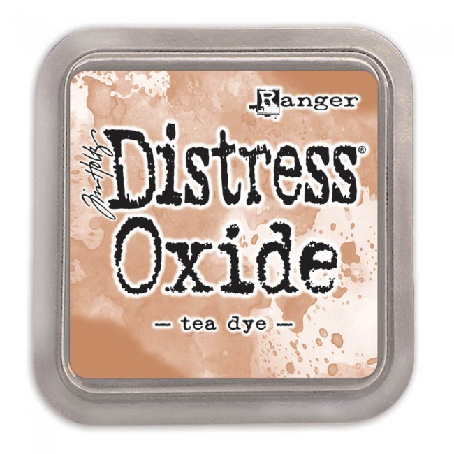 Tinta Distress Oxide Ink Tea Dye