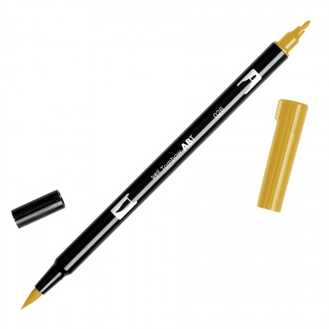 Rotulador Tombow - 026 Yellow Gold