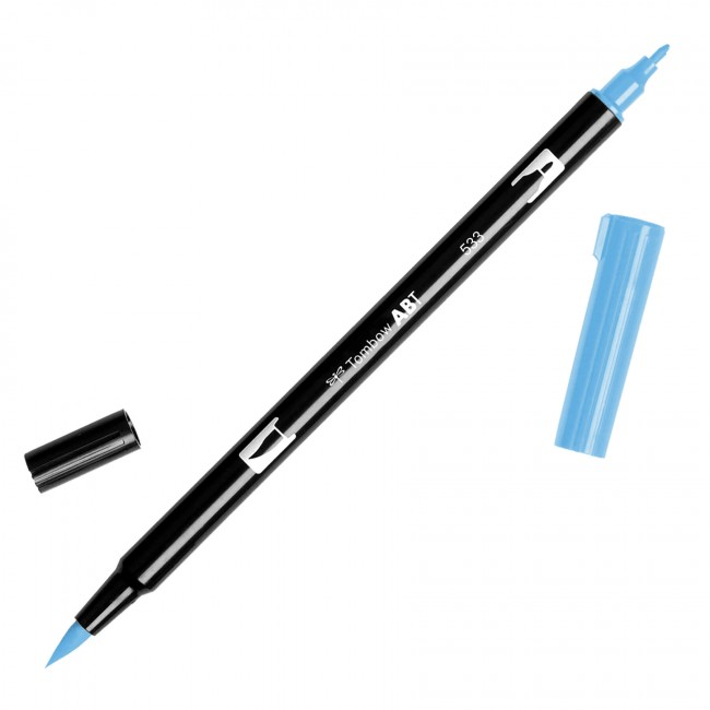 Rotulador Tombow   533 Peacock Blue