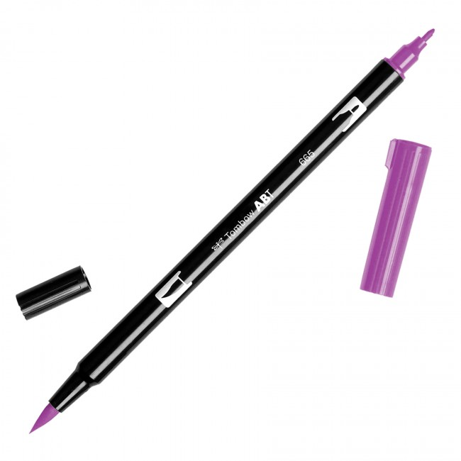 Rotulador Tombow   665 Purple