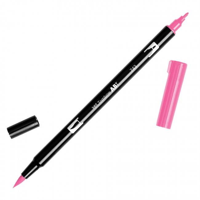 Rotulador Tombow   743 Hot Pink