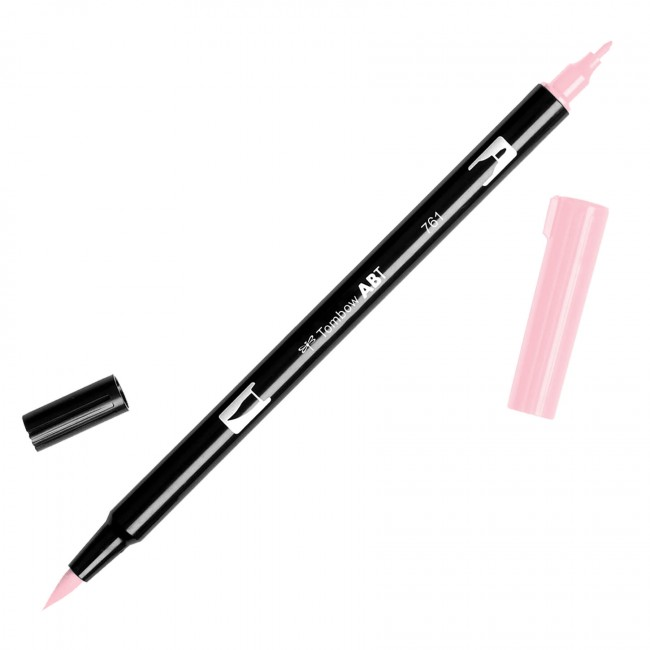 Rotulador Tombow - 761 Carnation Red