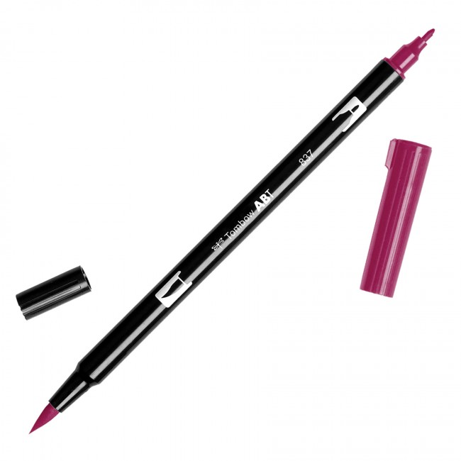 Rotulador Tombow   837 Wine Red