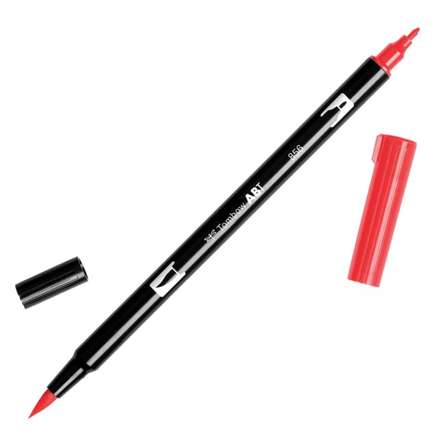 Rotulador Tombow - 856 Chinese Red