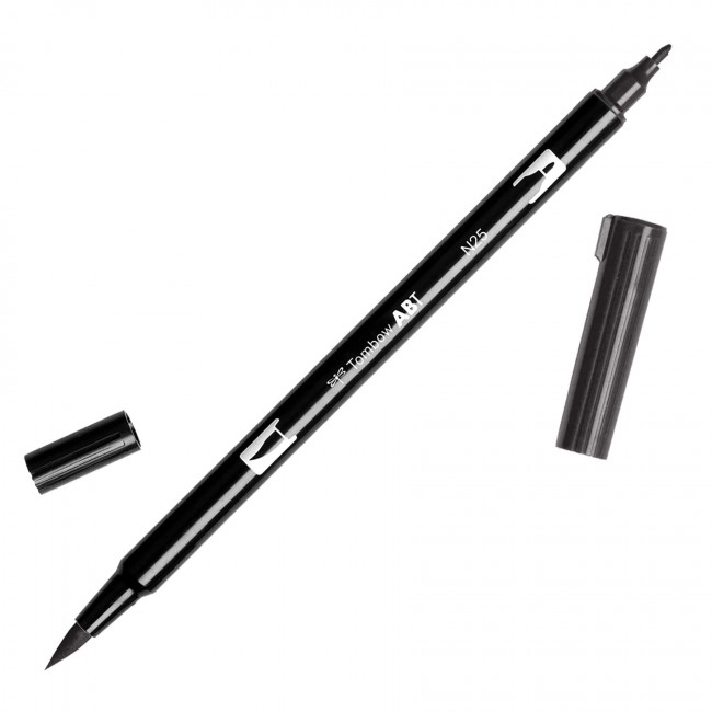 Rotulador Tombow - N25 Lamp Black