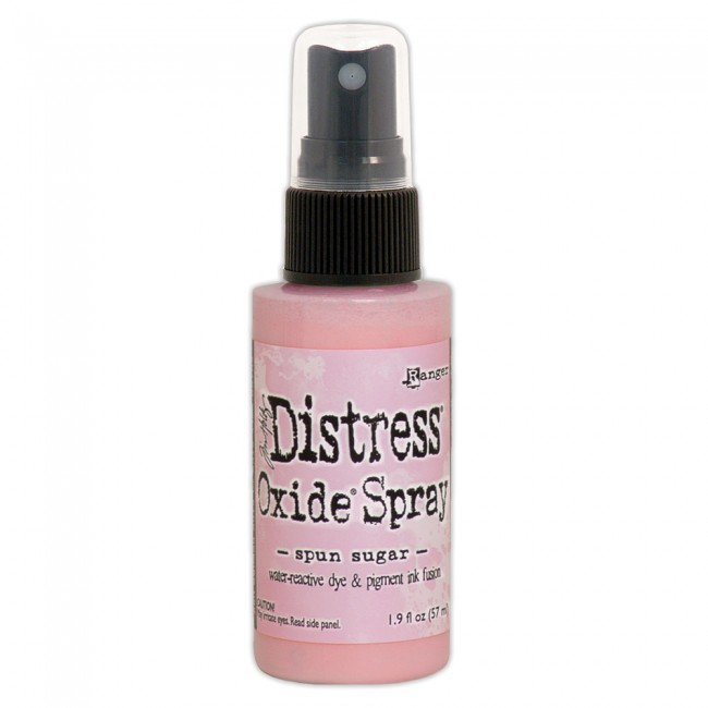 Tinta Distress Oxide Spray Spun Sugar