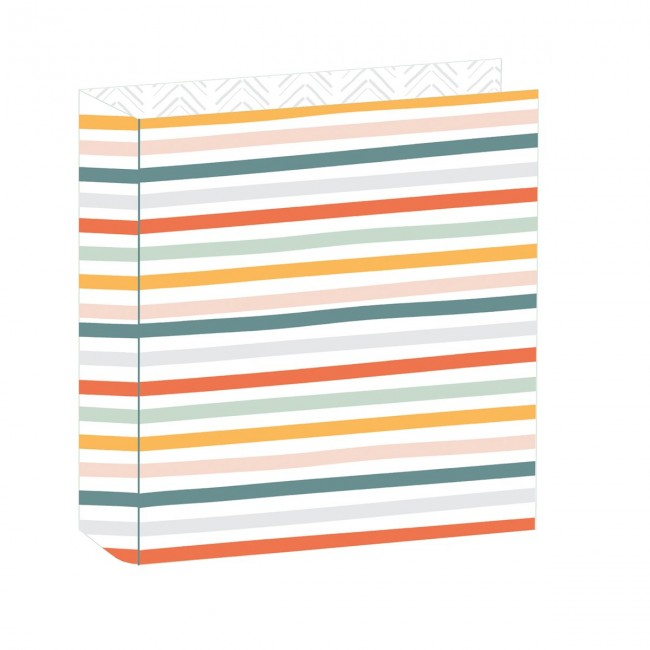 "Álbum 6"" x 8"" Essentials Little Stripes"