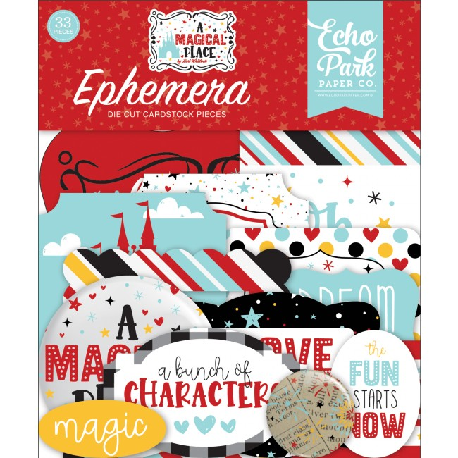 Die Cuts A Magical Place icons
