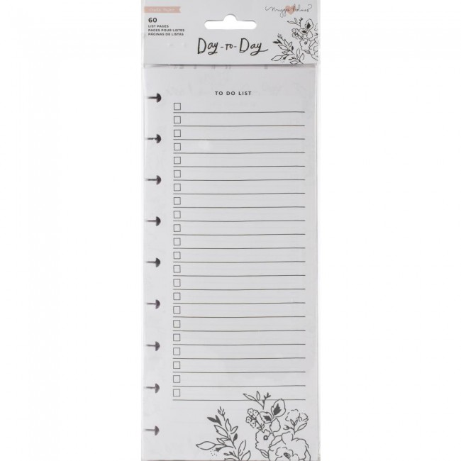Bloc de notas Day to Day Maggie Holmes Shopping & To-Do List