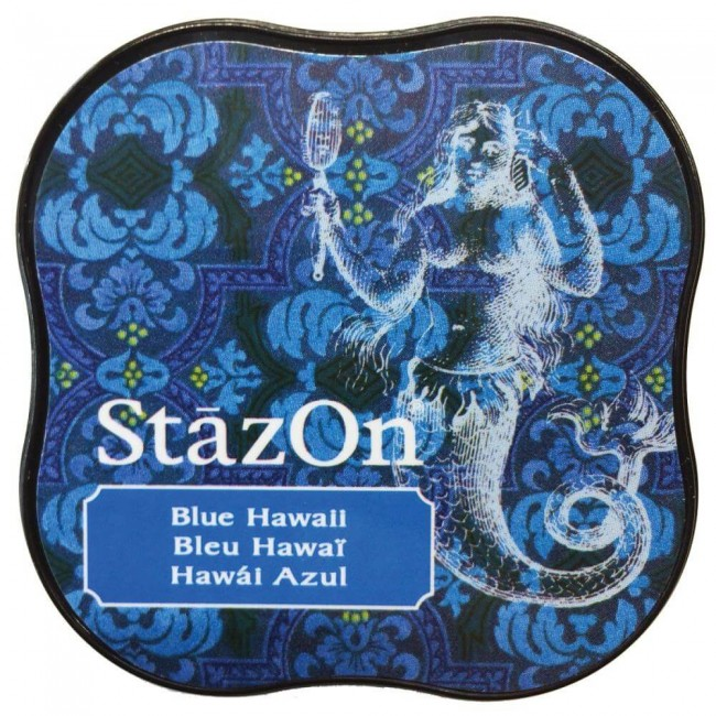 Tinta StazOn Midi Blue Hawai