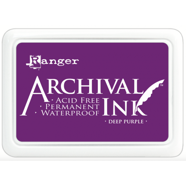 Tinta Archival Ink Deep Purple