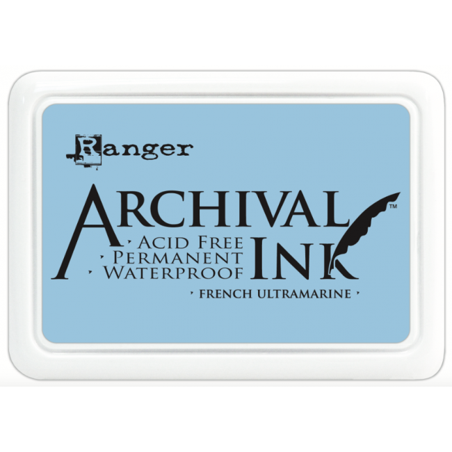 Tinta Archival Ink French Ultramarine