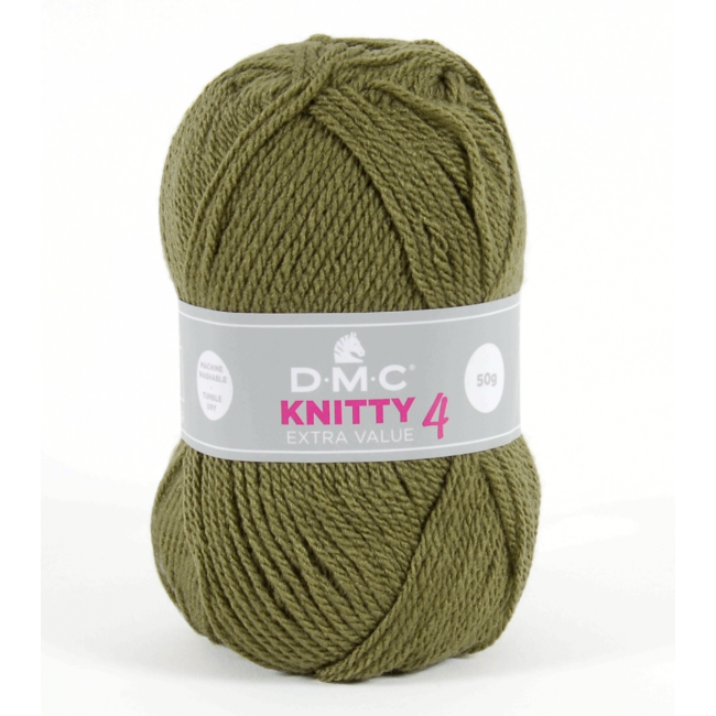 Lana acrílica DMC Knitty 4 Just Knitting 50 g 634