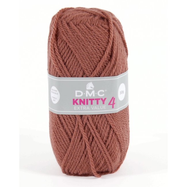 Lana acrílica DMC Knitty 4 Just Knitting 50 g 635