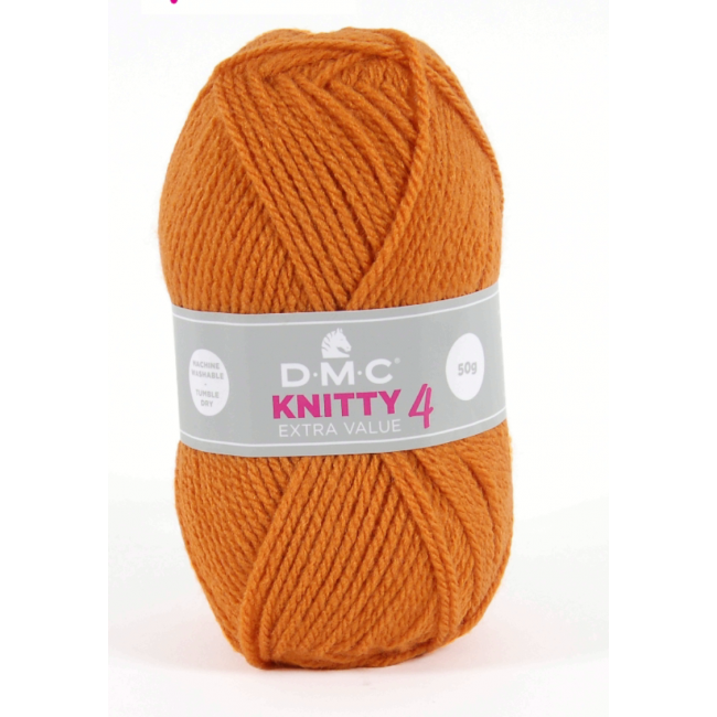 Lana acrílica DMC Knitty 4 Just Knitting 50 g 647